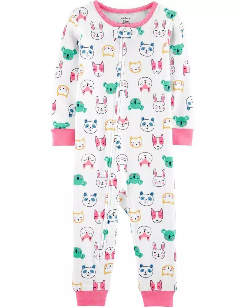 Pijama Menina - Animais - Carter's