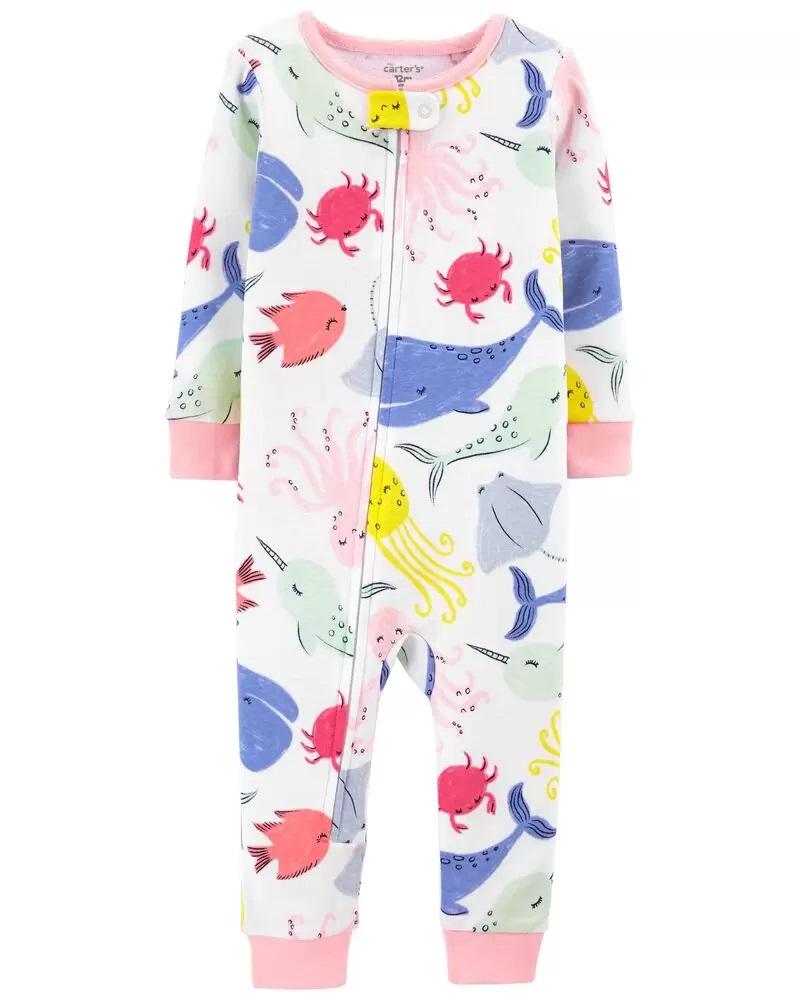 Pijama Menina - Baleias - Carter's