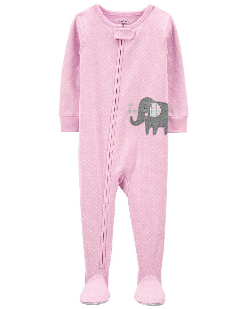 Pijama Menina - Elefante - Carter's