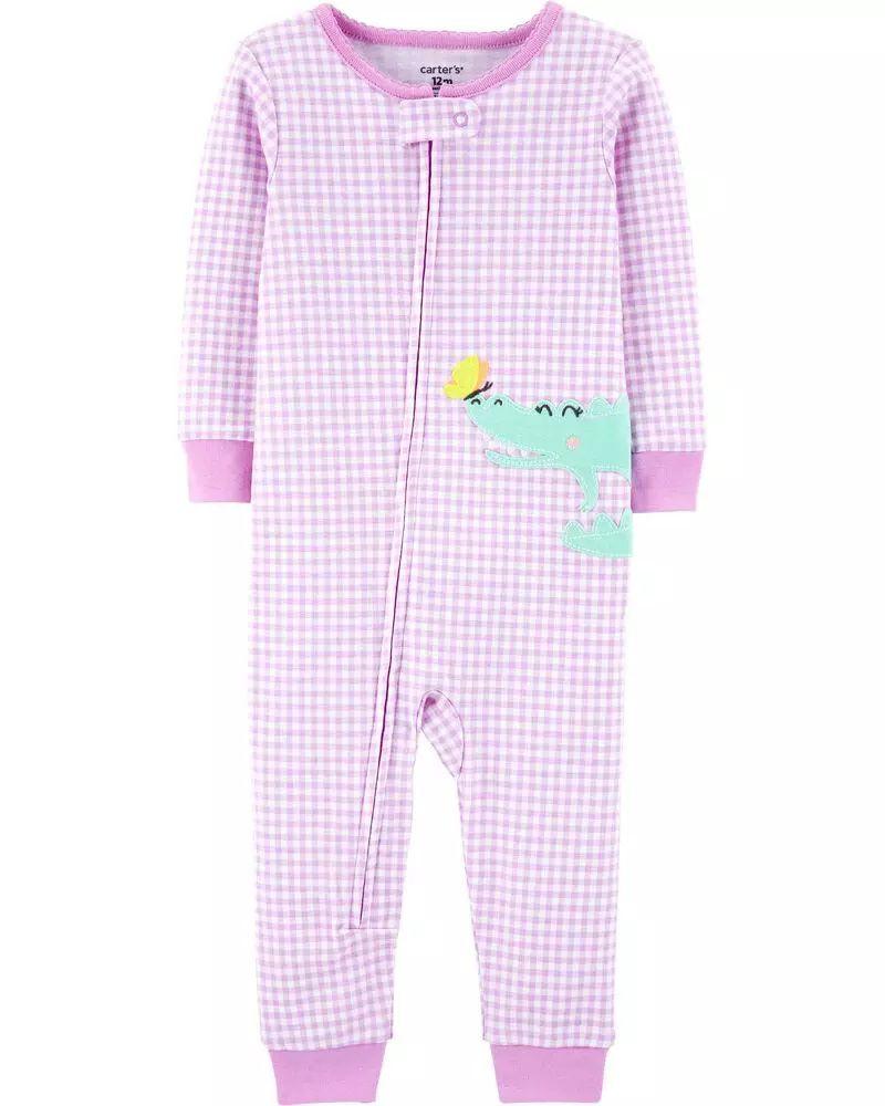 Pijama Menina - Jacaré - Carter's