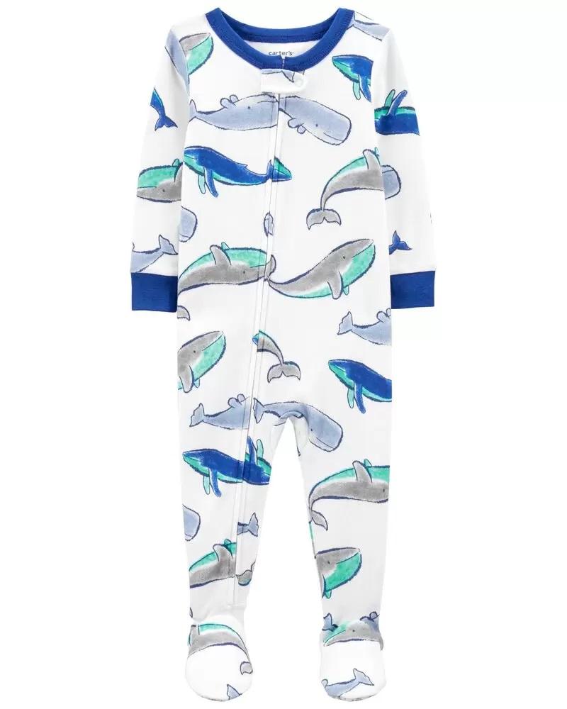 Pijama Menino - Baleias - Carter's