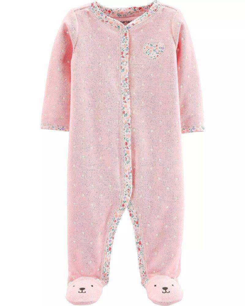 Pijama Terry - Coração - Carter's