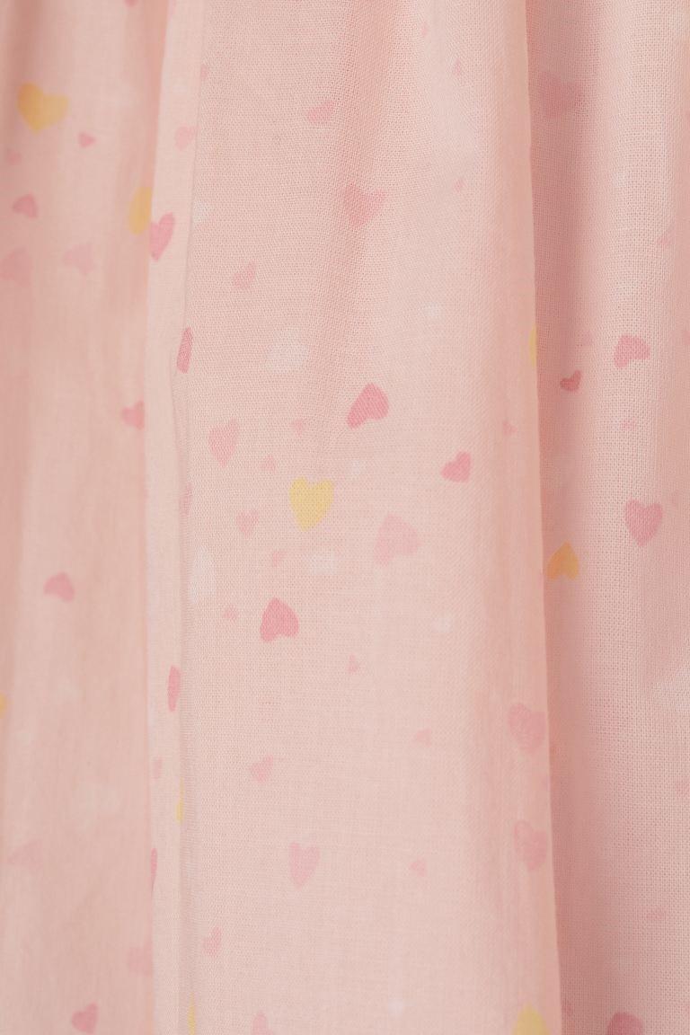 Vestido - Corações Rosa - H&M