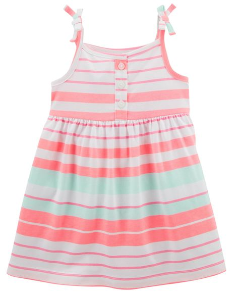 Vestido de Alcinha - Listras - Carter's