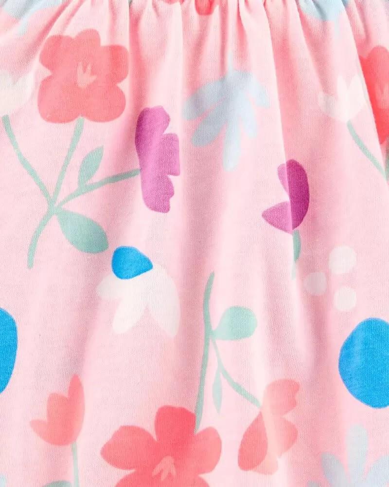 Vestido - Floral Rosa - Carter's