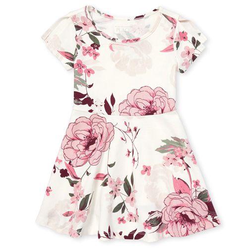 Vestido - Floral - The Children's Place