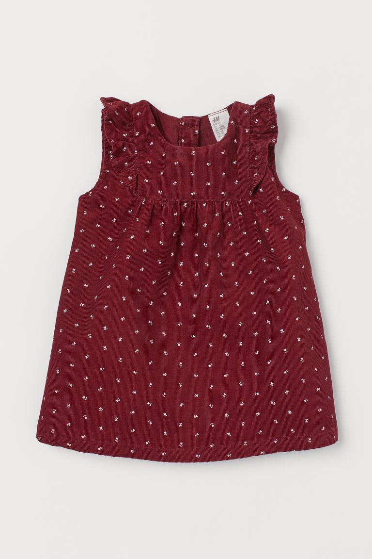 Vestido - Floral Vermelho - H&M