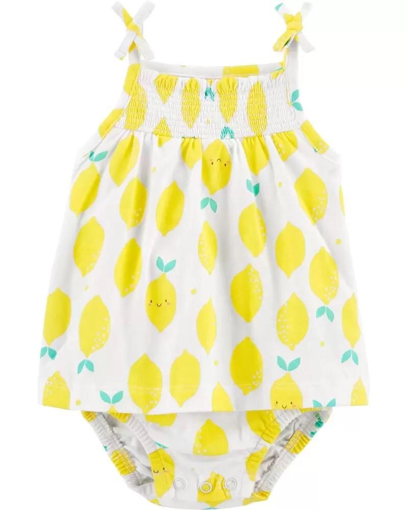 Vestido - Limão - Carter's