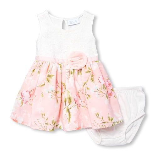 Vestido - Rosas - The Children's Place