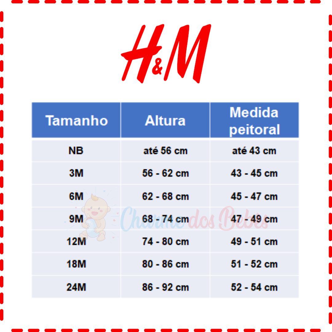 Vestido - Vermelho - H&M