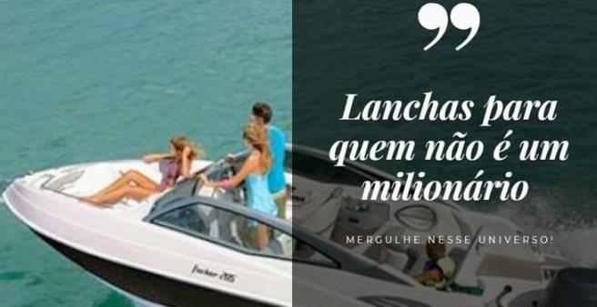 Lanchas para quem não é um milionário