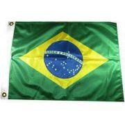 Bandeira Do Brasil para Uso Náutico em Barcos Lanchas Antenas Mastros 22x33 cm