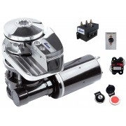 Guincho Elétrico Náutico 900 Watts em Aço Inox Completo para Âncora, Corrente 8mm ou Corda Bada C912-8