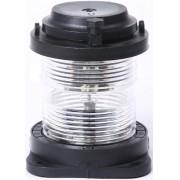 Luz de Navegação Circular de Top Homologada Branca 360° LED 12V em Plástico Montagem Horizontal