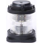 Luz de Navegação Circular de Top Homologada Branca 360° LED 24V em Plástico Montagem Horizontal