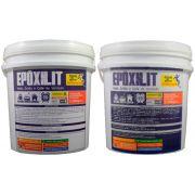 Tinta Massa Pincelável Revestimento Antiderrapante e Impermeabilizante Epoxilit 6,0 kg A + B Nauticola p/ Barcos
