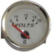 Voltímetro Medidor de Voltagem 16V para Embarcações Mercury QuickSilver 883626Q2