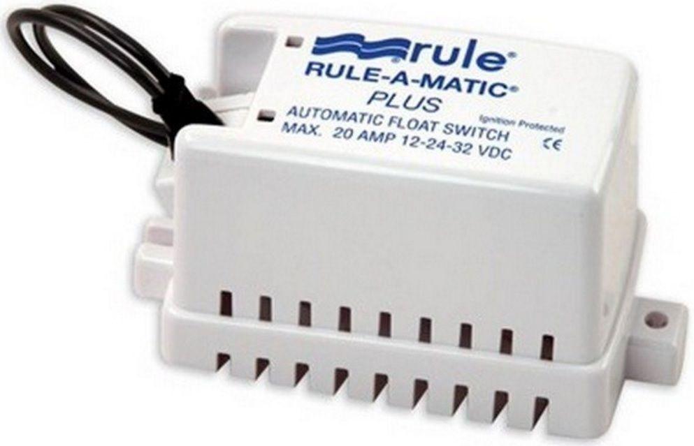 Automático Rule para Bombas de Porão 20A com Capa Modelo 40A - Rule-A-Matic Plus Float Switch