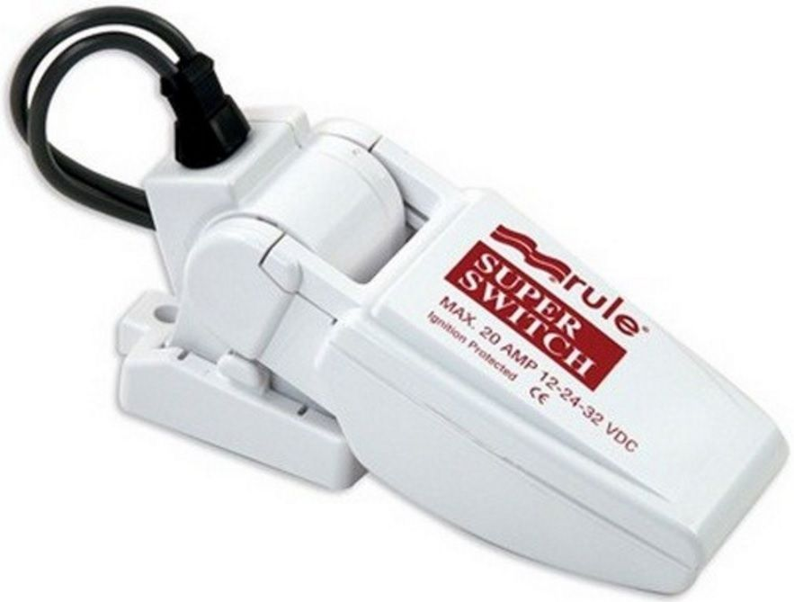 Automático Rule para Bombas de Porão 20A Modelo 37A - SuperSwitch Float Switch