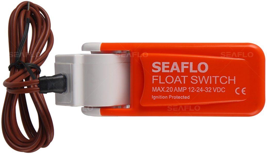 Automático Seaflo 20A para Bombas de Porão 12V/24V/32V (Chave Boia Flutuante) Série 1 SFBS-20-01
