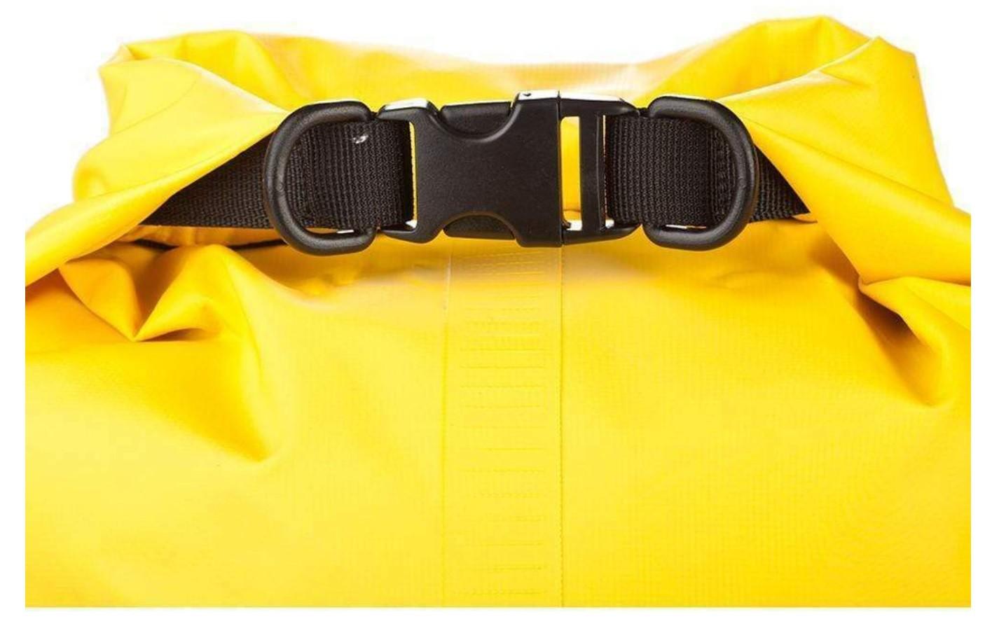 Bolsa Saco Estanque à Prova D'água 20 Litros em PVC Attwood Amarela p/ Barcos Lanchas Jet