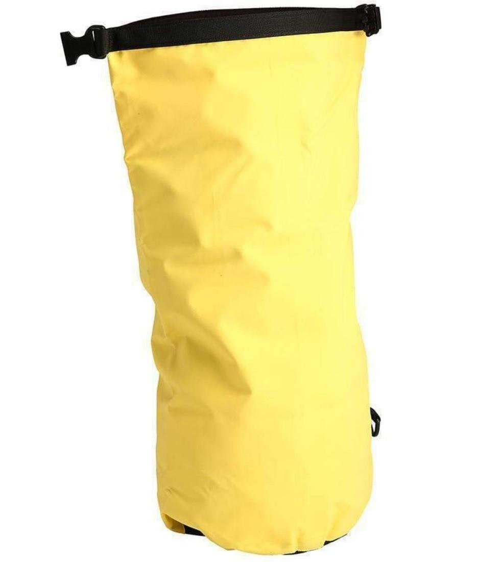 Bolsa Saco Estanque à Prova D'água 40 Litros em PVC Attwood Amarela p/ Barcos Lanchas Jet