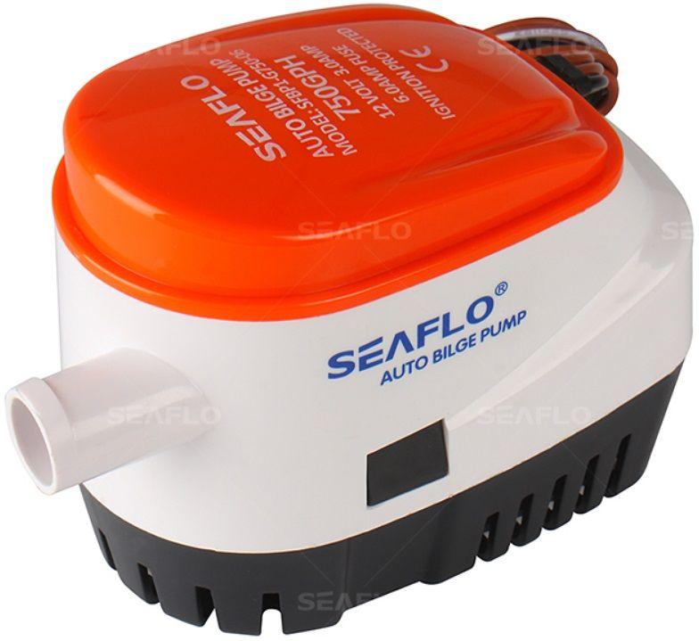 Bomba de Porão com Automático Integrado Seaflo 750 GPH 12V Modelo SFBP1-G750-06