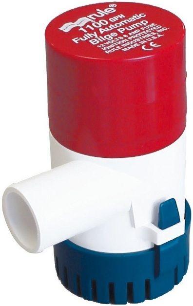 Bomba de Porão Submersível Automática Rule 1100 GPH 12V Modelo 27S