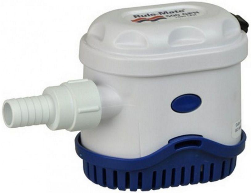 Bomba de Porão Submersível com Automático Integrado Rule-Mate 500 GPH 12V Modelo RM500A