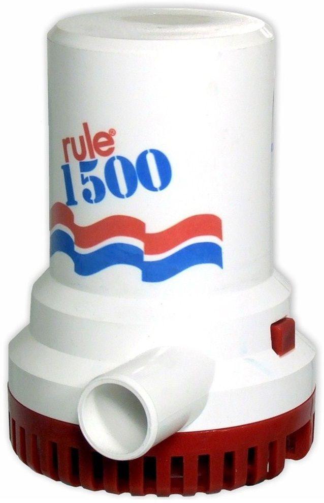 Bomba de Porão Submersível Rule 1500 GPH 12V Modelo 02