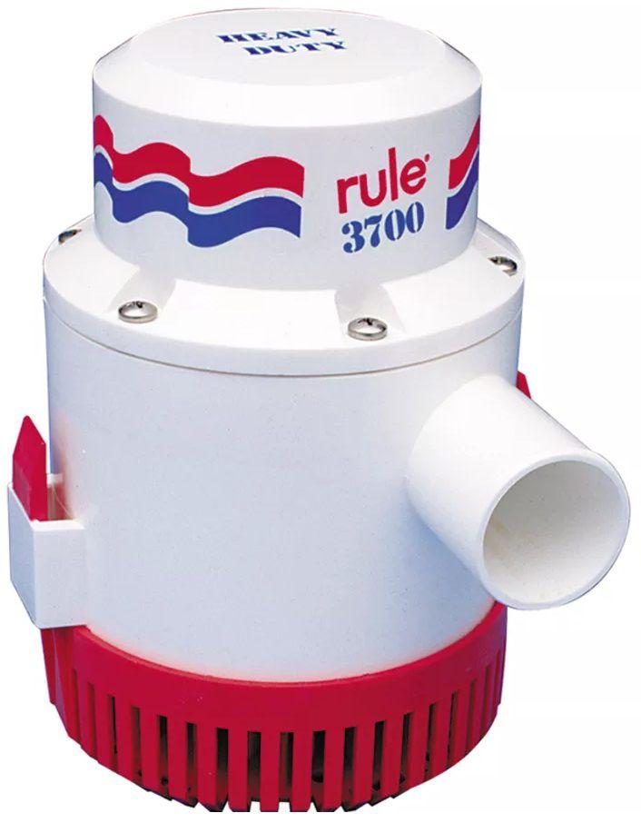 Bomba de Porão Submersível Rule 3700 GPH 12V Modelo 14A para Barcos e Lanchas