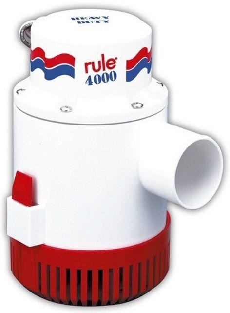 Bomba de Porão Submersível Rule 4000 GPH 12V Modelo 56D