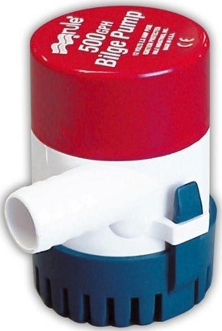 Bomba de Porão Submersível Rule 500 GPH 12V Modelo 25D