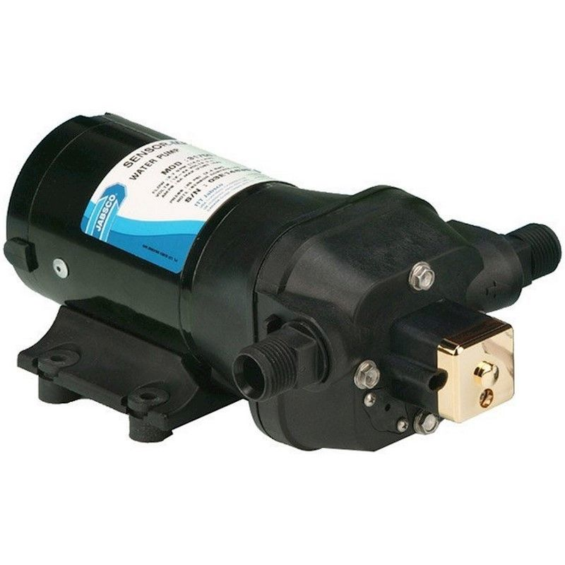 Bomba de Pressão Constante Jabsco Sensor Max com Driver VSD (VFD) 3.7 GPM 12VDC de Velocidade Variável