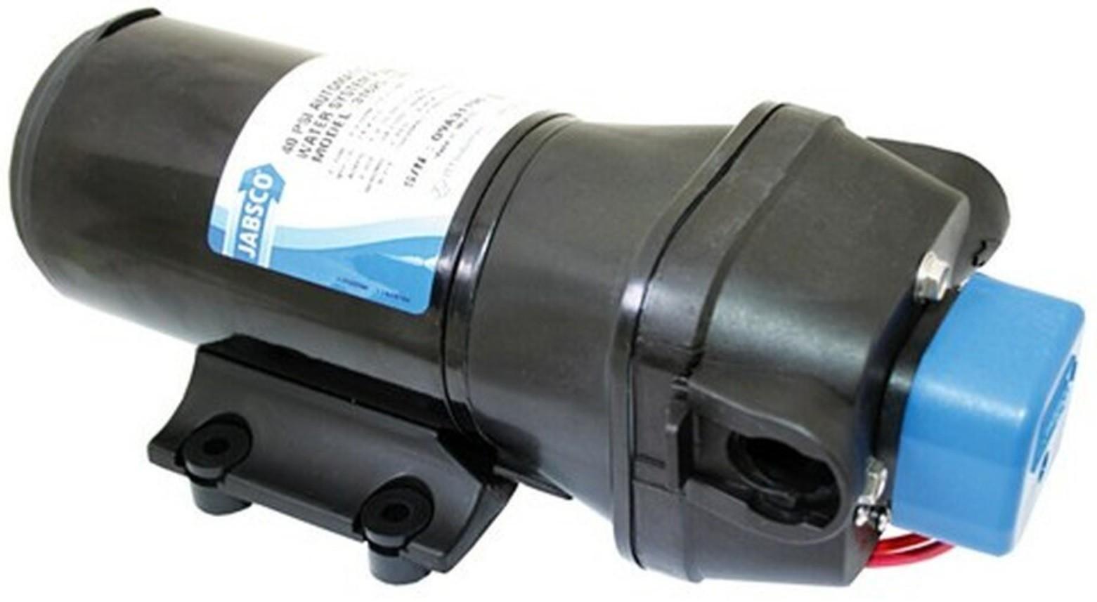 Bomba de Pressurização Automática Jabsco PAR-Max 4.3 GPM 12V 40 PSI para Barcos e Lanchas