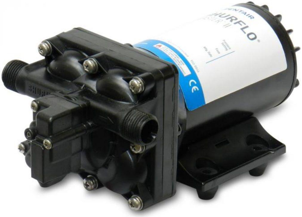 Bomba de Pressurização e Lavagem Marinizada Shurflo BLASTER II 3.5 GPM 12V c/ Pressostato Modelo 4238-121-E07