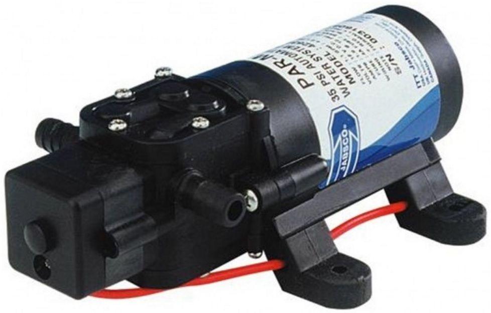 Bomba de Pressurização Jabsco PAR-Max 1 - 1.1 GPM 12V com Pressostato Modelo 42630-2900