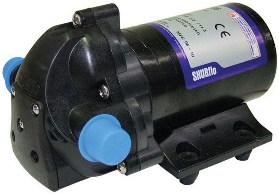 Bomba de Pressurização Marinizada Shurflo AQUA KING Junior 2.0 GPM 12V com Pressostato Modelo 2901-0203