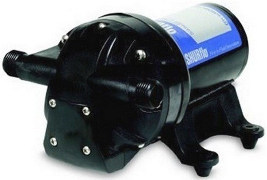 Bomba de Pressurização Marinizada Shurflo AQUA KING Premium 4.0 GPM 12V com Pressostato Modelo 4901-4202