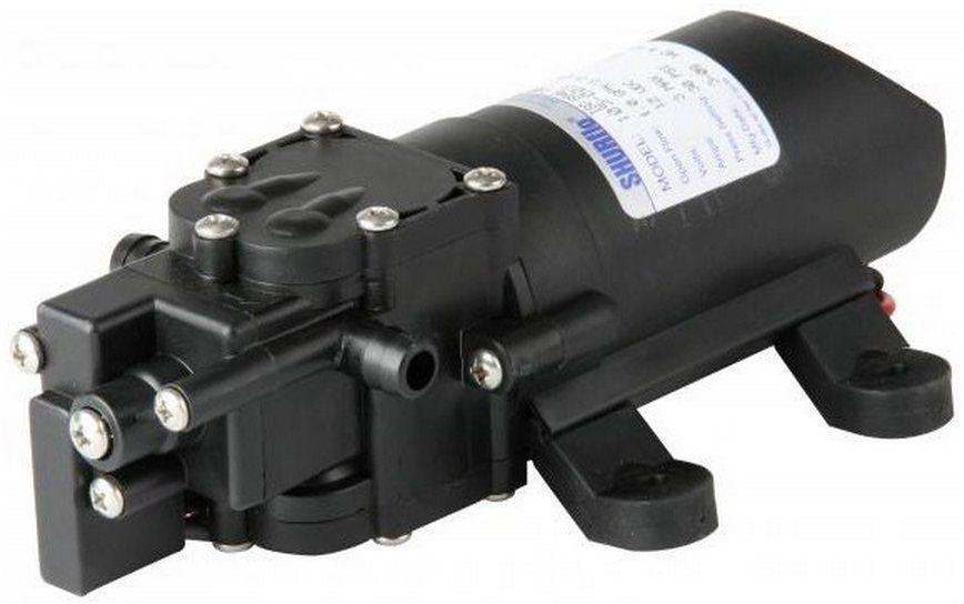 Bomba de Pressurização Marinizada Shurflo SLV 1.0 GPM 12V com Pressostato Modelo 105-003