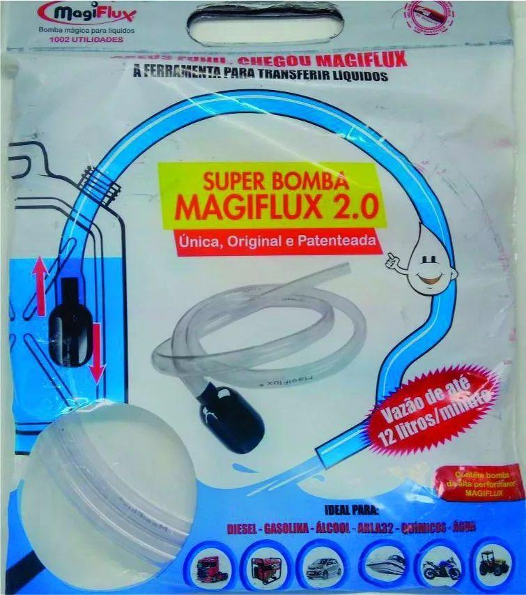 Bomba de Sucção Manual Magiflux por Gravidade para Transferência de Líquidos