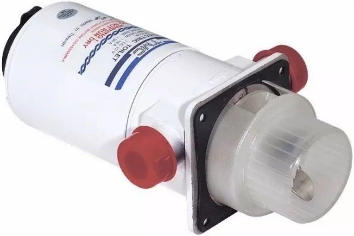 Bomba Maceradora de Resíduos TMC 12V para Vaso Sanitário Elétrico de Barcos e Lanchas TMC-429965