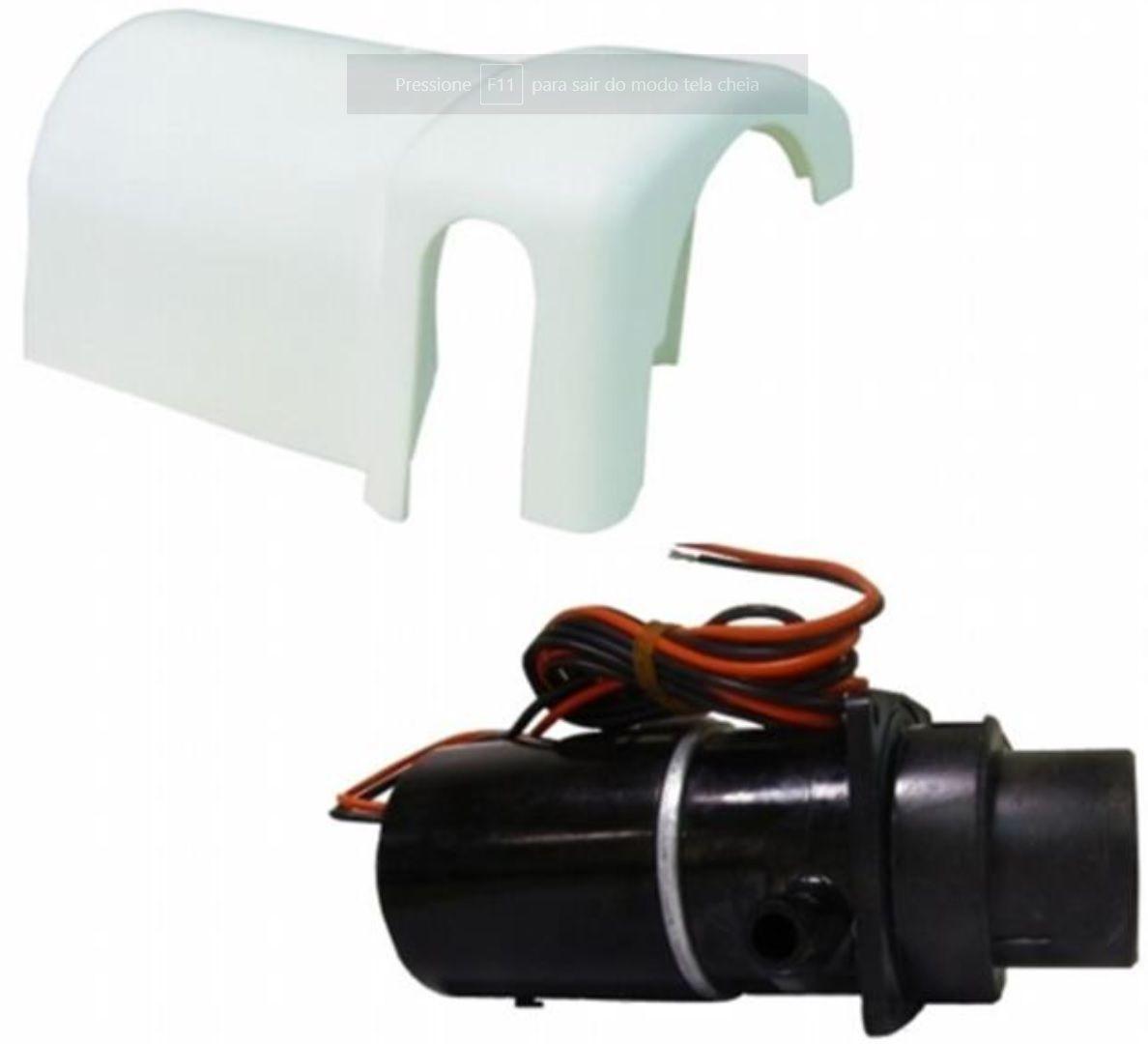 Bomba Maceradora Jabsco para Vaso Sanitário Elétrico 12V Jabsco e TMC - Modelo 37041-0010