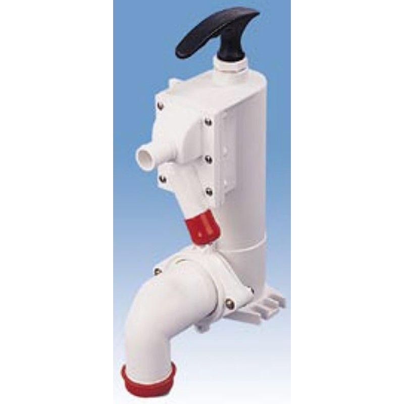 Bomba para Vaso Sanitário Manual TMC Sem Base para Vasos TMC e Jabsco