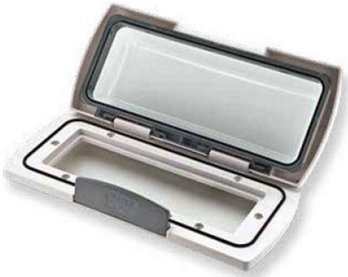 Capa Protetora Marinizada para Rádio/CD Player à prova d'água TREM Modelo L 46 60 727