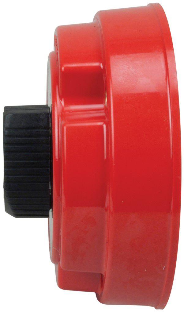 Chave Geral de Bateria Blindada Perko 8501 para 2 Baterias 250A Contínuos de Uso Náutico