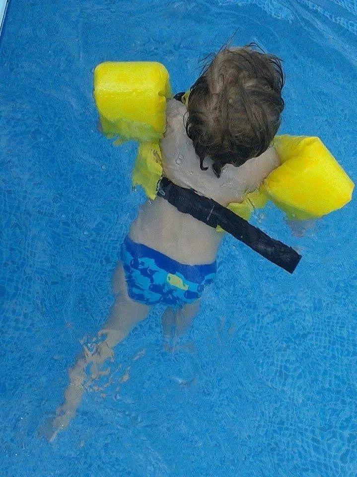 Colete Salva-Vidas Auxiliar Infantil Ativa Kids Estrelito Homologado Amarelo Classe V Até 25 Kg