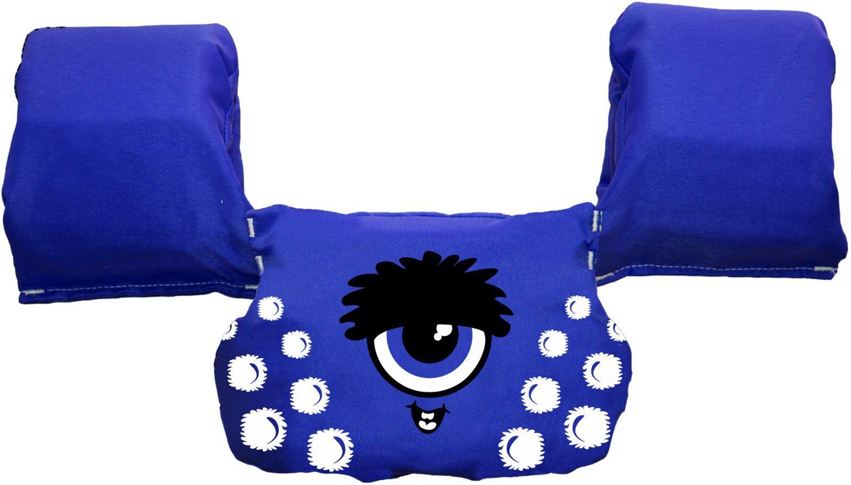 Colete Salva-Vidas Auxiliar Infantil Ativa Kids Ouriçolho Homologado Azul Classe V Até 25 Kg