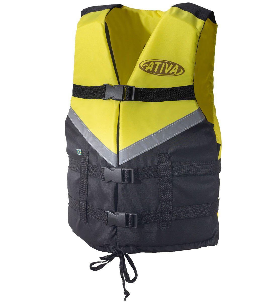 Colete Salva-Vidas Esportivo EAF Ativa Canoa 2.0 - Caiaque Jet Ski Lancha e Barco