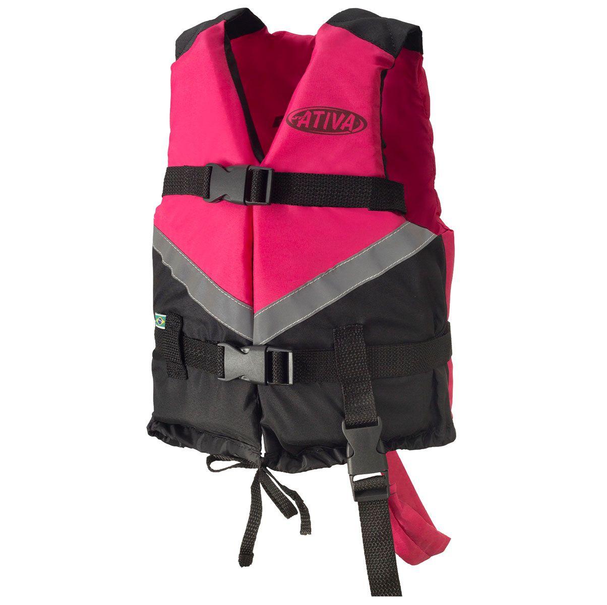 Colete Salva-Vidas Esportivo Infantil EAF Ativa Canoa 2.0 - Caiaque Jet Ski Lancha e Barco